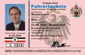 Reichs-Fahrerlaubnis